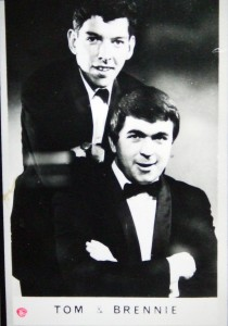 Brendan McCormack and Tom O'Connor