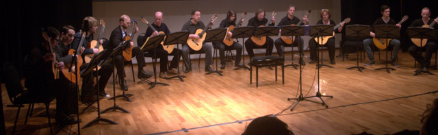 Liverpool Guitar Society Full Ensemble